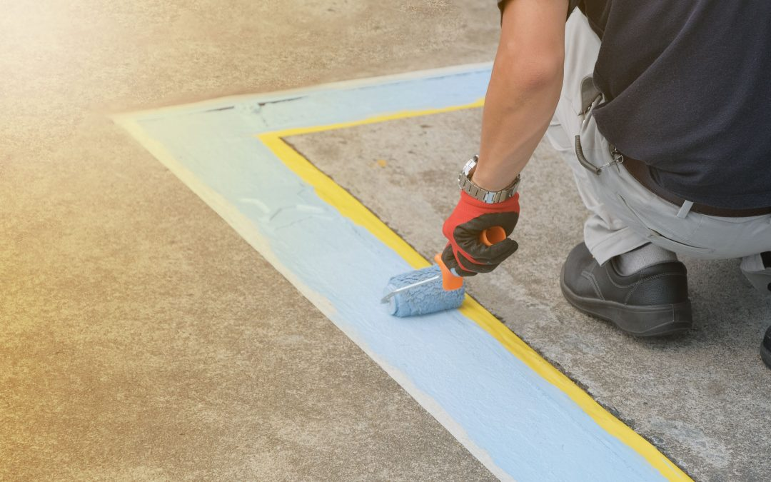 Make Striping on Concrete Last Longer