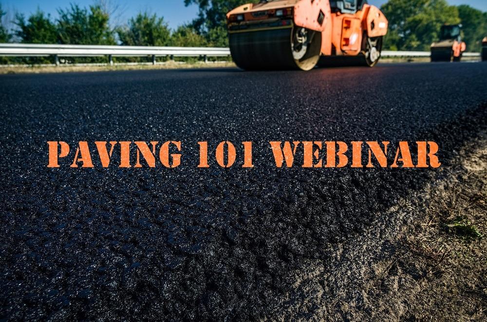 Paving 101 Webinar